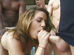 Drunk Girl Gangbanged