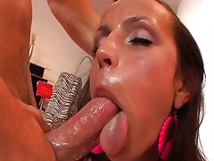 Chanel White horny ass to mouth
