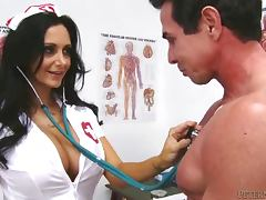 Bewitching Ava Addams in nurse uniform having wild sex