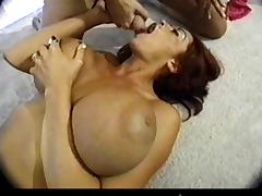 Donita Dunes swallowing