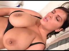Jasmine Black plays with Sex Toy