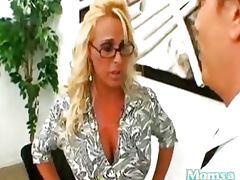 Holly Halston the Boss Got Fucked at Moms A Cheater