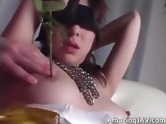 Blindfolded asian babe gets fucked part5