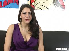 Valentina Nappi shows off her hot body and enjoys multiposition sex