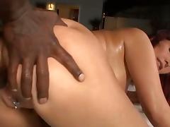 Horny carrie ann loves black dick in her ass