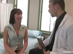 Dana Dearmond gets tortured and fucked by the lewd doctor