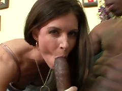 Stunning milf india summer interracial pounding