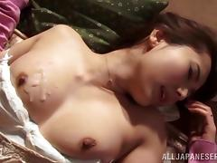 Superb Yui Hatano blows a cock and gets fucked by old man