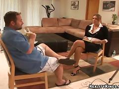 Booty HR manager is conducting a hot sexual interview