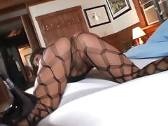 Ava Devine enjoys sucking and rubbing some dude's cock