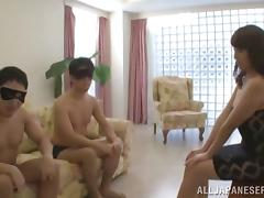 Kinky Japanese Threesome With Dirty Whore Misa Yuki