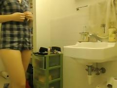 Hidden College Cam Shower Scene