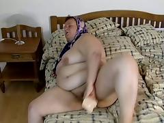 That horny man is ready to fuck an old old pussy