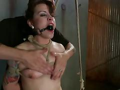 Attractive Elizabeth Thorn Is A Submissive Babe And Gets Tortured