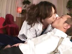 Asami Yoshikawa Pretty Japanese model rides a huge cock