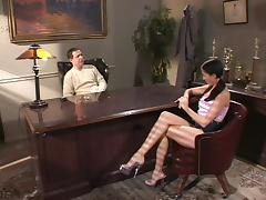 Amazingly hot Liza gets fucked hard in a prinipal's office