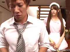 Scrumptious Asian Babe Serves A Blowjob To A Nasty Guy