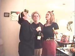 Amateur Drunk Sluts Fucked In A Hot FFM Threesome