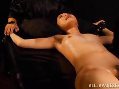 Gorgeous Wakaba Onoue Plays BDSM Games With A Dirty Man