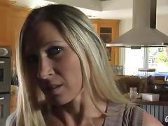 Devon Lee sucks and fucked a big cock in POV