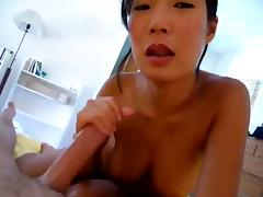 Chinese Wife gets hubby off